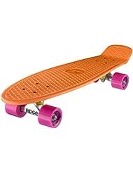 Ridge Skateboard Big Brother Nickel Mini Cruiser Board Komplett Fertig Montiert - Skateboard, color Multicolor, talla 69 cm