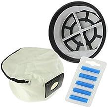 SUDS-ONLINE Reusable Cloth Zip Hoover Bag , Filter & Air Freshener Sticks For Numatic Edward vacuum cleaner