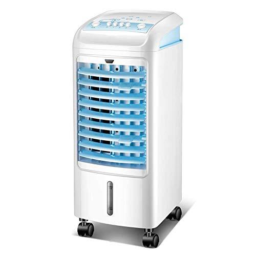 ZXF@ Tragbare Klimaanlage LüFter Standluftentfeuchter Und LüFter Mechanische Luftbefeuchtung Tragbarer Haushalt Mobile Single Cold, 75w, 25x25x62cm