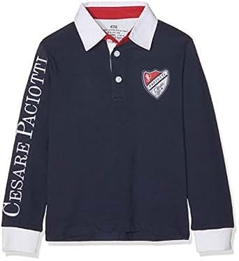 Cesare Paciotti 4US Kids Polo Blu 10-11 Anni (140 146 cm)  Amazon.it   Abbigliamento b9c0eb026a0