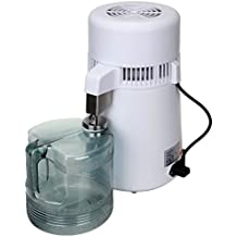 Paneltech 4L 750W máquina de Agua Pura destilador purificador de Filtro de Acero Inoxidable Interior del
