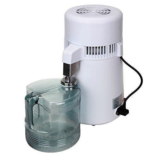 Paneltech Distillateur d'eau, 4L 750W distillateur d'eau professionnel filtre à eau en...