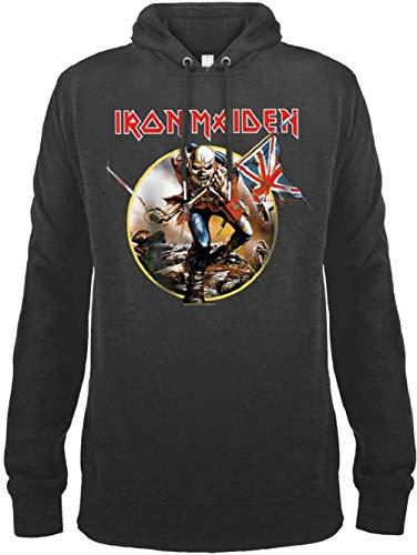 Amplified Iron Maiden Trooper Drum Hoody (XL, Charcoal) -