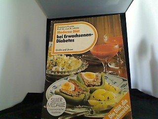 Moderne Diät bei Erwachsenendiabetes.