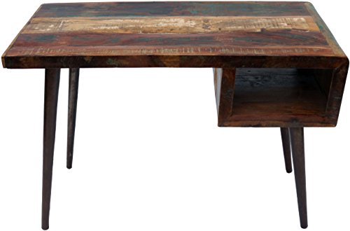Guru-Shop Vintage Bureau, Table Basse en Bois Recyclé, 79x116x59 cm, Bureaux