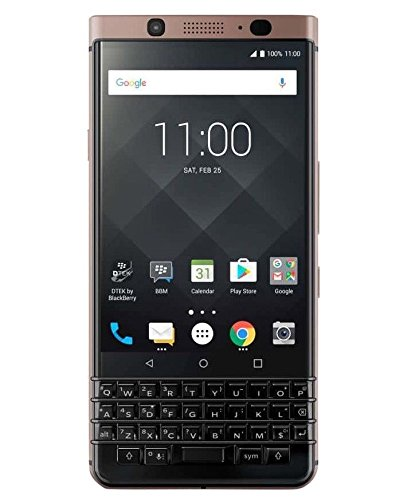 BlackBerry Keyone Dual SIM 64GB 4GB RAM Bronze Edition Black