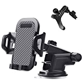 YANGSANJIN Support Telephone Voiture Ventilation Support Voiture Ventouse Universel avec Rotation Support Voiture au Pare-Brise Sortie d'air pour Iphone Samsung Galaxy Note Huawei