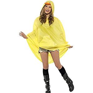 Poncho party canard impermeable-taille unique