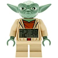 LEGO Despertador con luz infantil con figurita de Yoda Star Wars 9003080