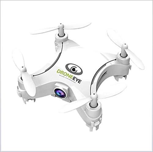 shengshiyujia RC Drohne 4CH 6 Achse 2.4G Mit HD-Kamera 3.0MP 720P RC Quadcopter Headless-Modus / 360 ° -Rollen/Zugriff Echtzeit-Aufnahmen RC Quadcopter/Fernbedienung/Sender/Kamera,White -