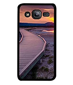 PrintVisa Designer Back Case Cover for Samsung Galaxy J2 (sunny fresh looking route image)