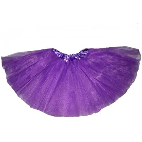 Big Girl, Teens, Adult Ballet Princess Fairy Dress-Up Tutu (Young at Heart)- PURPLE by BubuBibi