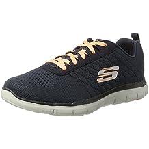 Skechers Flex Appeal 2.0 Break Free, Zapatillas de Deporte para Mujer