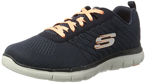 Skechers (SKEES) Damen, Funktionsschuh, fashion fit- style chic, grau (gymn), 37