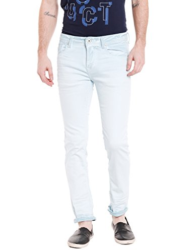 KILLER Men's Skinny Fit Jeans (E-9526 SOLIDATE SKFT MTGRN_Blue_34W x 34L)  available at amazon for Rs.2169