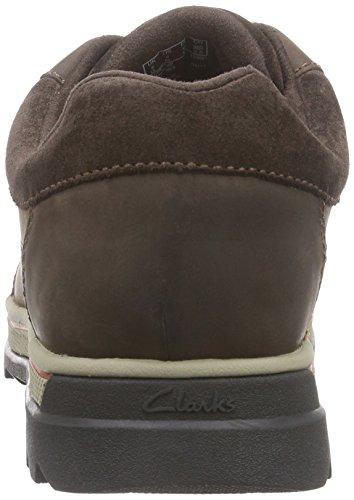 Clarks RipwayPath GTX, Herren Brogue Schnürhalbschuhe Braun (Dark Brown Lea)