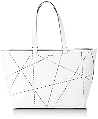 Calvin Klein Sofie Perforated Large Tote - Bolso para mujer