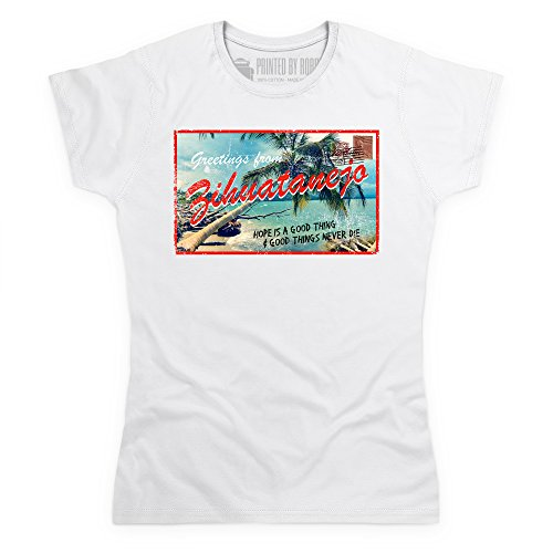Inspired By The Shawshank Redemption - Zihuatanejo T-Shirt, Damen Wei