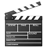 Okayji Movie Director Clap Board Clapper Clapboard Action Board, Black