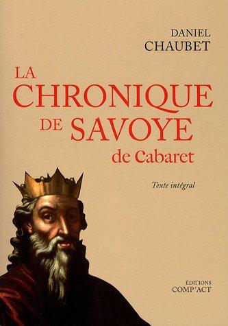 La chronique de Savoye de Cabaret