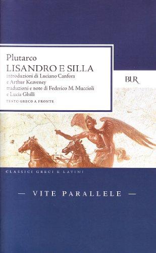 Vite parallele. Lisandro e Silla. Testo greco a fronte - Amazon Libri