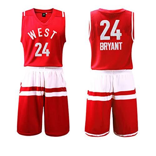 LUGLQA Männer Sport Basketball Kleidung Casual Jersey Zweiteilige Weste Ärmelloses T-Shirt Lose Shorts-4-XL - Iv-basketball-schuhe