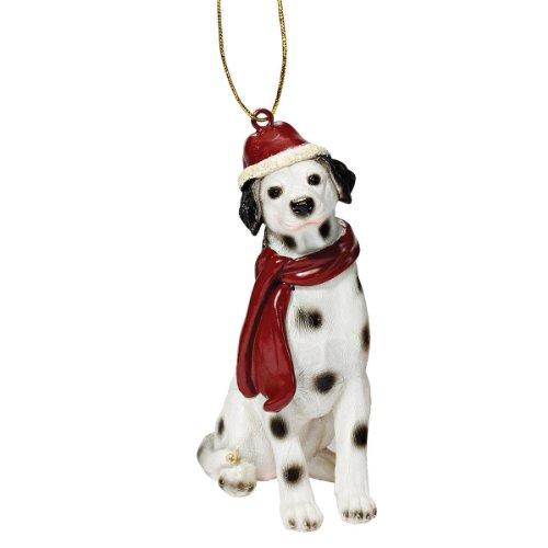 Design Toscano Christmas Ornaments, Weihnachten dalmatinischen Ferienhundeornamente