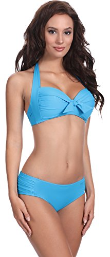 Feba Damen Push Up Bikini F20 Muster-511