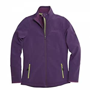 Craghoppers Women's Nuka II Soft shell - Dark Plum, Size 8