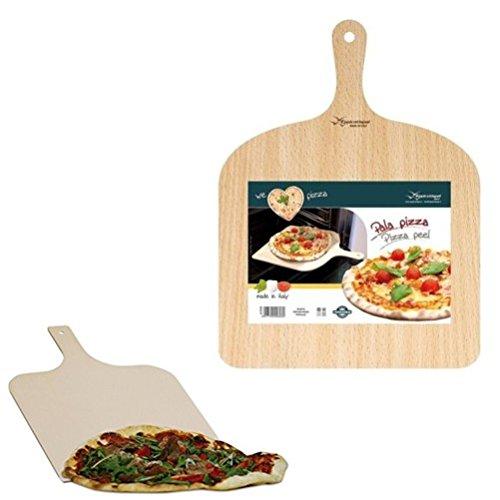 Pala para pizzas Bandeja porta Pan Queso Tabla Tabla Madera de abedul