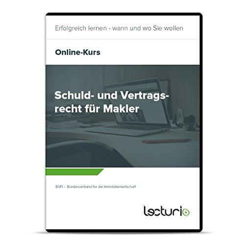 Online-Videokurs Schuld- und Vertragsrecht für Makler von BVFI (Bundesverband für die Immobilienwirtschaft)