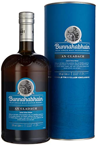 Bunnahabhain AN CLADACH Limited Edition Release mit Geschenkverpackung Whisky (1 x 1 l) - Release Nuss