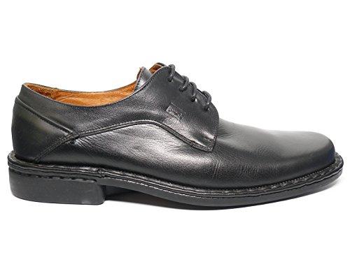 Fluchos, Scarpe stringate uomo nero Size: 42