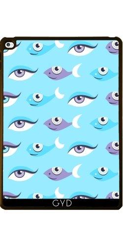 Hülle für Apple Ipad Air 2 - Spaßmuster Der Augen Und Fisch by Boriana Giormova (2 Fisch-auge Blaue)