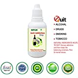 World-Class Anti Addication Drops From Sovam For Quitting Liquir, Smoking, Drugs etc. 100% Natural & Zero Side Effects. 30ml (1 Month Pack)
