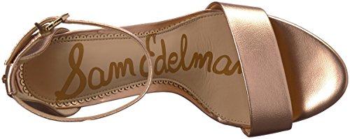Femme Sandales Compensées Blush Sam Edelman Gold Yaro xIqHtSwE