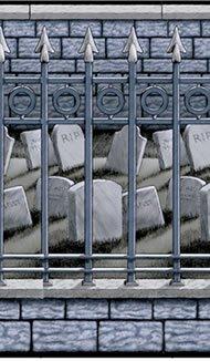 falksson Raum-Deko Friedhof, 1,2m x 12,2 m -Halloween- Preisvergleich