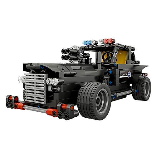 HSDM® Ferngesteuerte Bausteine für Autos, Bauen Sie Ihre eigenen Roboter-Spielzeug für Kinder - Geniale Maschinen Fernbedienung Roboter-Bausatz 100 centimeters B (Roboter Bausatz Fernbedienung)
