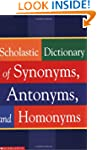 Scholastic Dictionary of Synonyms, An...