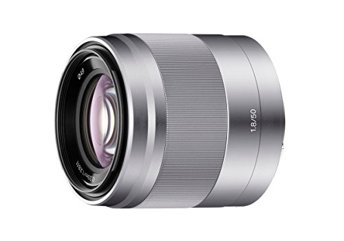 Get Sony SEL50F18 E Mount APS-C 50 mm F1.8 Prime Lens – Silver Online
