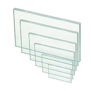 Polycarbonat Platte PC klar 2050 x 1250 x 2mm | Bodenschutzmatte | Schild ähnlich wie Acrylglas