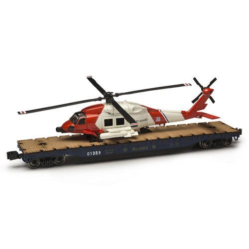 o-gauge-alaska-railroad-flatcar-with-us-coast-guard-helicopter-by-menards