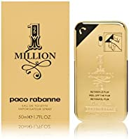 Paco Rabanne 1 Million - Perfume for Men, 50 ml - EDT Spray