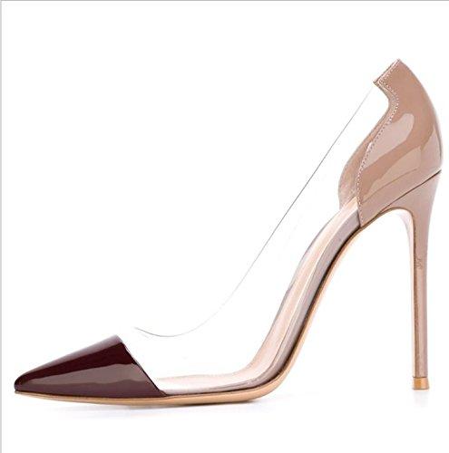 Ruanlei High Heels for Wedding Lavoro Scarpe Scarpe con Tacco Medio  Eleganti Lavoro ScarpeWild ed eleganti a tacco alto calzature donna 6bebdb4adef