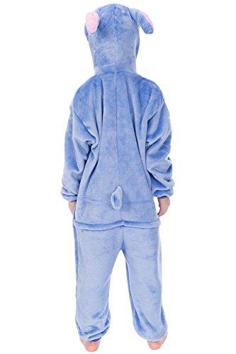 Imagen de dolamen niños unisexo onesies kigurumi pijamas, niña traje disfraz animal pyjamas, ropa de dormir halloween cosplay navidad animales de vestuario 130 140cm 51