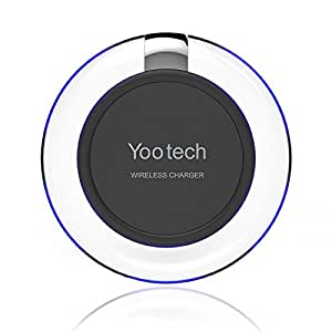 chargeur sans fil yootech chargeur pad sans fil chargeur induction pour samsung galaxy s8 s8. Black Bedroom Furniture Sets. Home Design Ideas