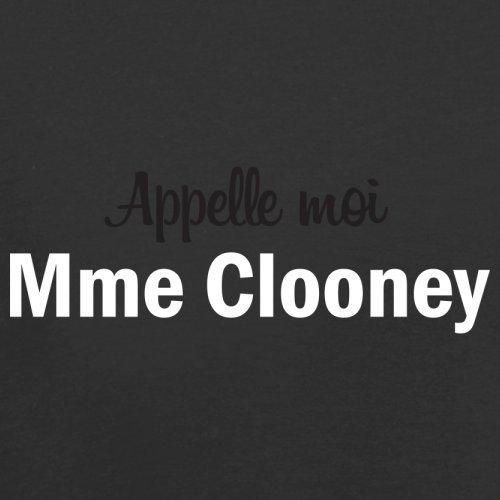 Apelle Moi Madame Clooney - Femme T-Shirt - 14 couleur Noir