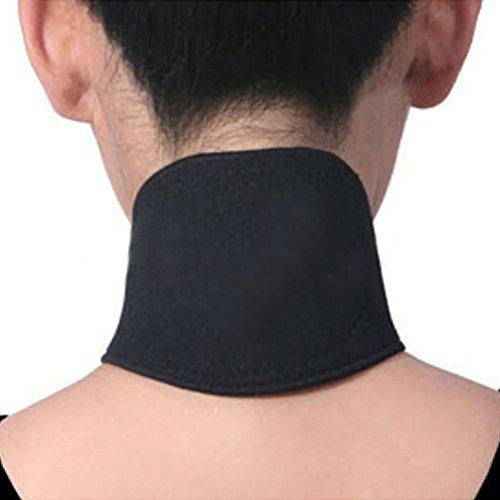 PIXNOR Magnetfeldtherapie-Thermal Eigenerwärmung Neck Pad Gürtel (schwarz)