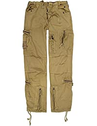 Herren Vintage Hose aus Baumwolle mit vielen Taschen