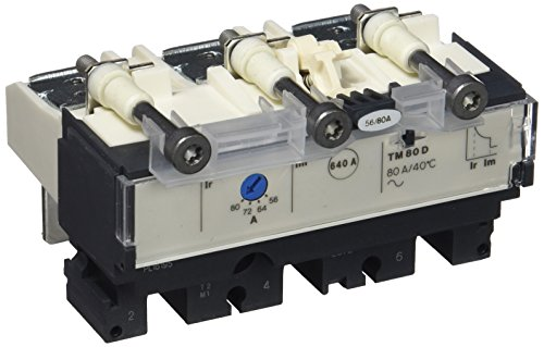 Preisvergleich Produktbild Schneider Electric LV429031TMD Auslöser für NSX100Leitungsschutzschalter, 3p Pole, 3D, 80A